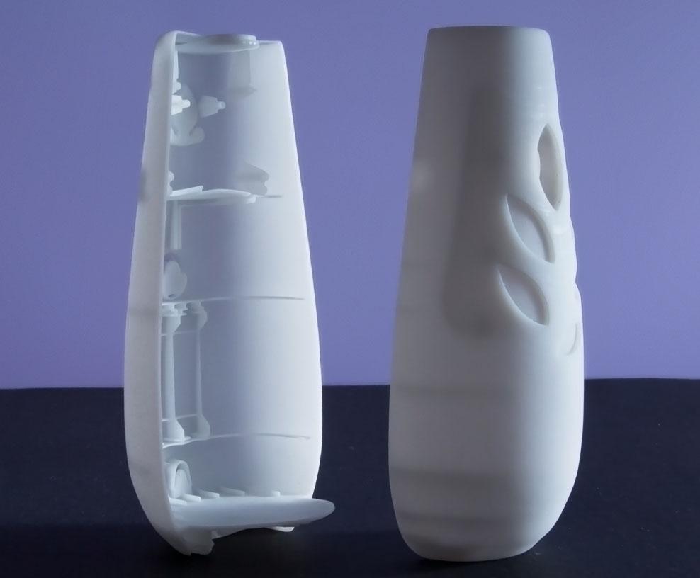 SLA Detailed Plastic 3D Printing