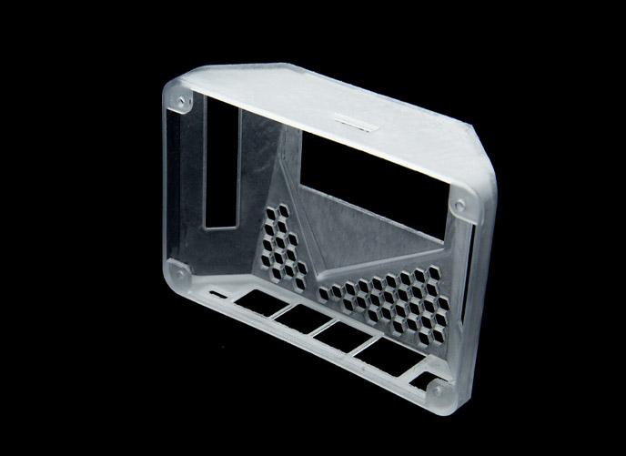 SLA translucent 3D Printed enclosure